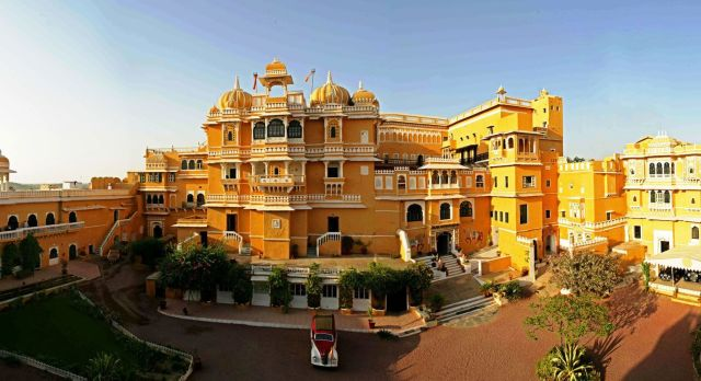 Visit Deogarh Mahal Palace on your North or South India Tours