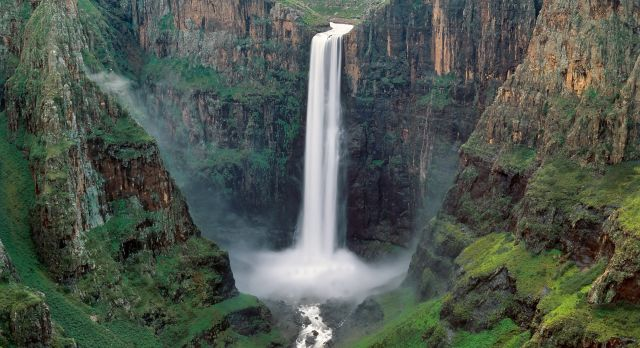 Lesotho Travel - waterfalls