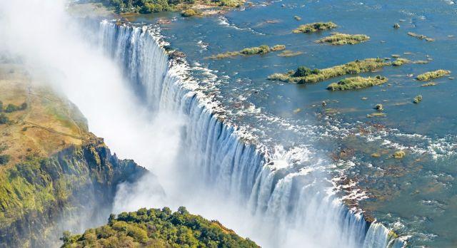 Simbabwe Sehenswürdigkeiten: Victoriafälle