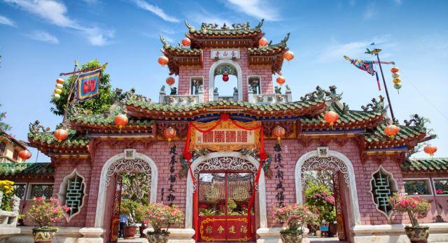 Historisches Gebäude in Hoi An