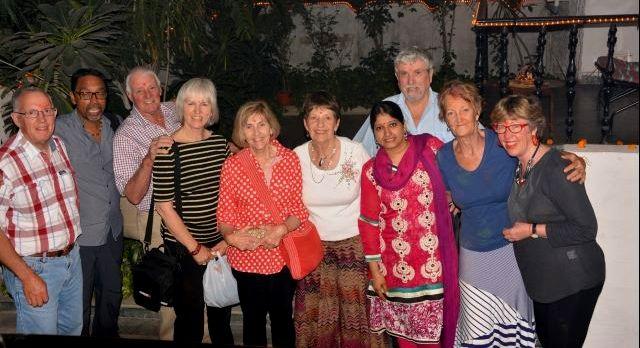 Jen Marsden during her India tour