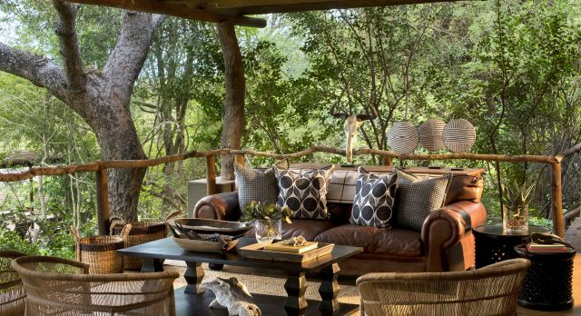 Enchanting Travels Südafrika Tours Kruger Hotels Lion Sands Tinga Lodge Lounge