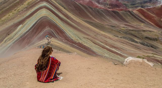 Rainbow Mountains in Cusco