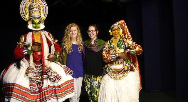 Kathakali dance performance in South India