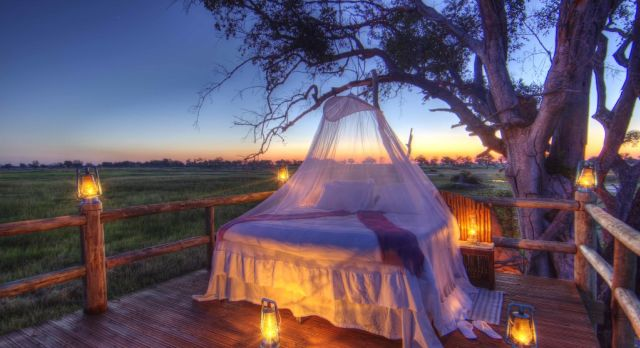 luxury African safari at Kanana Camp