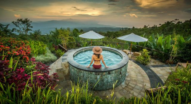Pool at Munduk Moding Coffee Plantation Nature Resorts