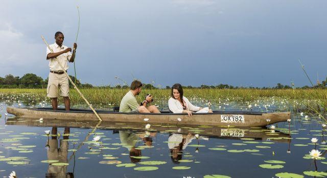 Enchanting Travels-Botswana Tours-Okavango Delta-Vumbura Plains-Boat ride