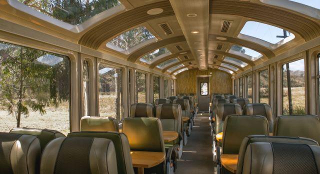 PeruRail Vistadome train