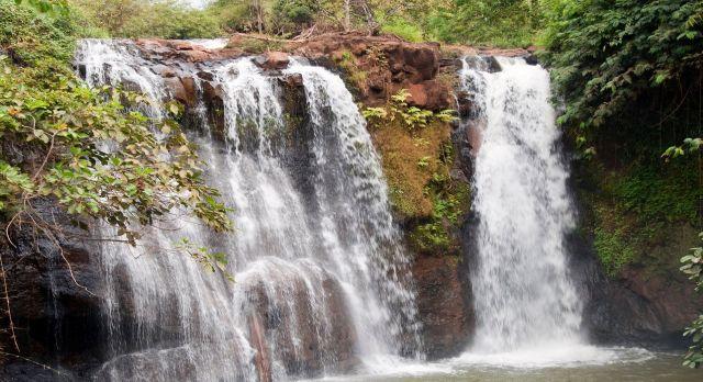 Waterfalls at Banlung
