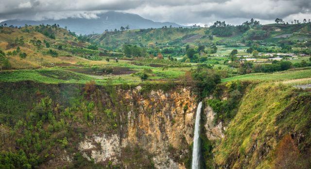 Waterfall in North Sumatra