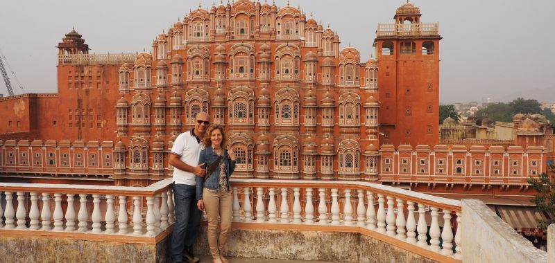 Enchanting Travels Guest Christine Manfred Streinz India Tour