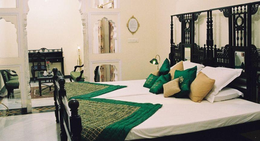 Zimmer im Hotel Shahpura House Jaipur,