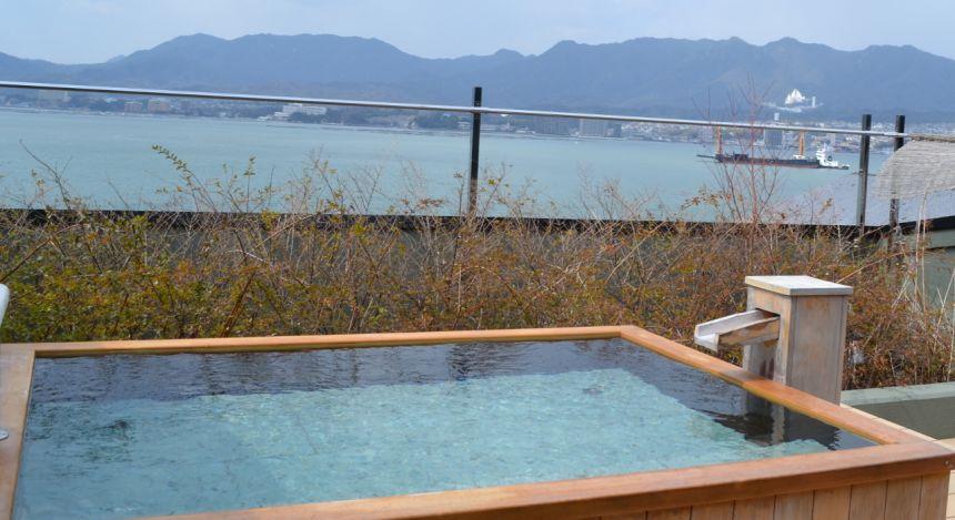 Enchanting Travels Asia Japan Vacations - Miyajima - Iroha Interior Outdoor Bath 1600