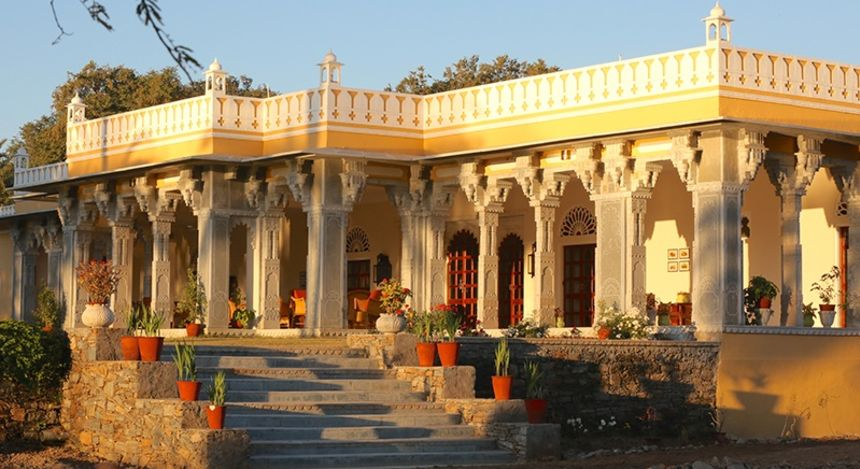 Enchanting Travels India Tours Rajasthan Hotels Devshree facade