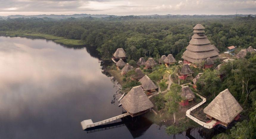 Enchanting Travels - Ecuador Reisen - Yasuni - Napo Wildlife Center -  Ansicht von oben