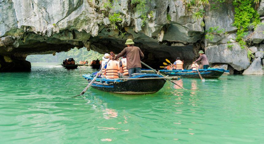 Halong Bay or Mekong Delta: Enroute to Vung Vieng