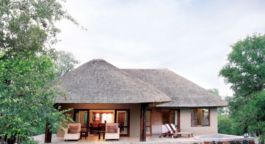 Exterior view Arathusa Safari Lodge - Winter in South Africa