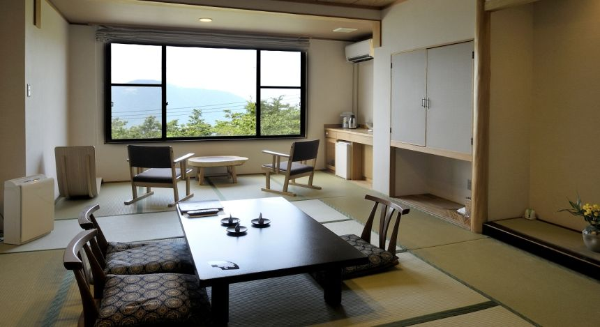 Room at Gora Sounkaku in Hakone, Japan