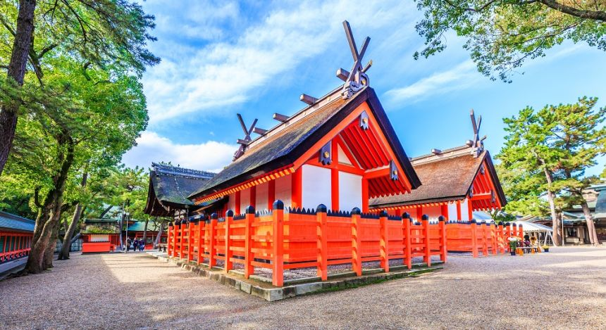 Enchanting Travels Japan Tours Osaka Sumiyoshi Grand Shrine or Sumiyoshi Taisha in Osaka City, KansaiSumiyoshi Grand Shrine or Sumiyoshi Taisha in Osaka City, Kansai