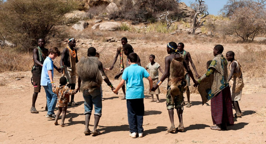 Enchanting Travels Lake Eyasi Hadza Bushmen of Lake Eyasi, Courtesy of Lake Eyasi Tented Camp, Tanjanyika Wildeness Camps