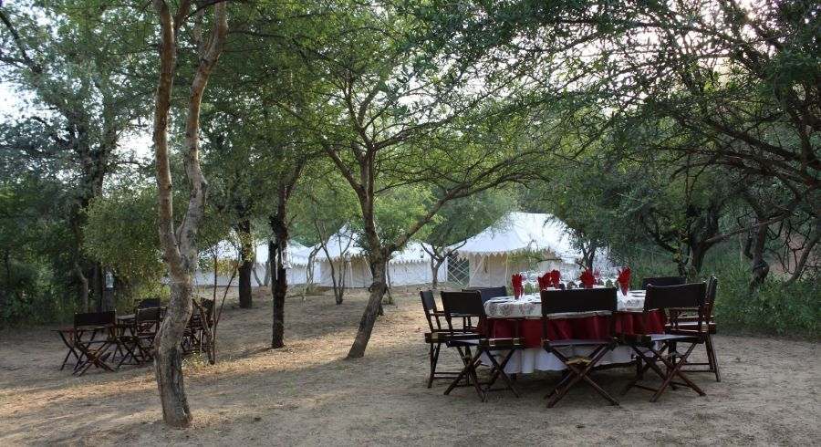 Enchanting Travels - India Vacations - North India Tours - Dera Amer Tent Hotel - 4