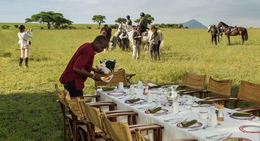Enchanting Travels - Kenya Tours - Chyulu Hills - Ol Donyo Lodge - Bush Breakfast - Is Kenya Safe?