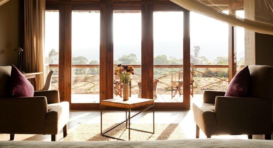 Room with a view at Kitela Lodge, in Lake Manyara & Ngorongoro, Tanzania