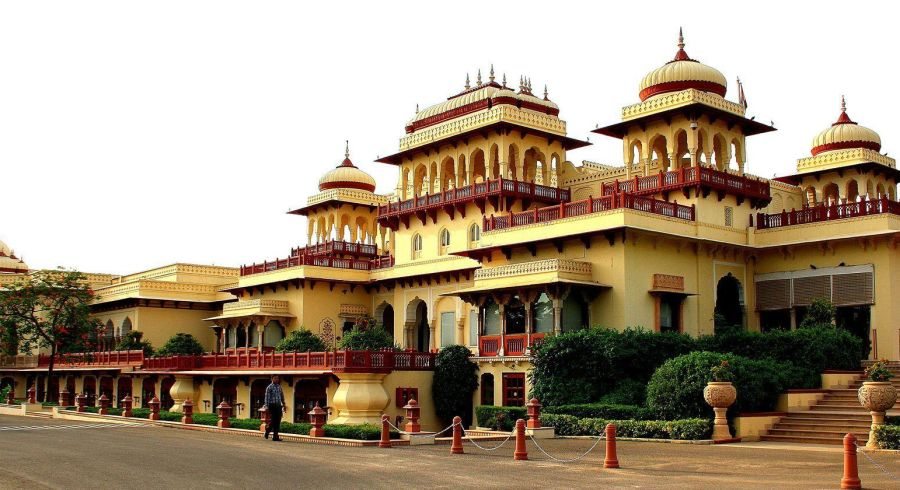 Das Heritage Hotel Taj Rambagh Palace, Jaipur, Rajasthan