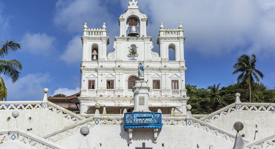 Portugiesische Kirche in Goa