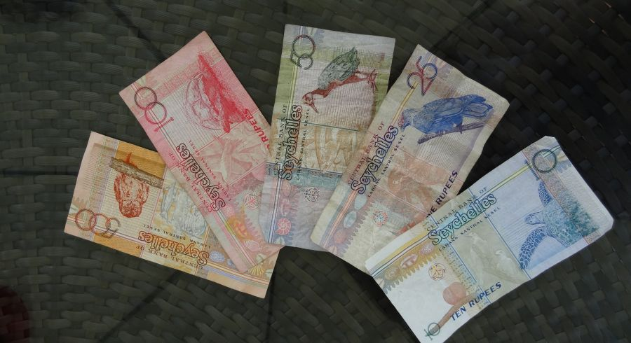 Die Seychelles Rupee