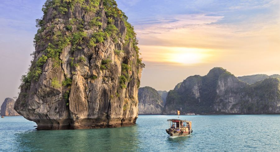Halong Bay or Mekong Delta: The bay of descending dragons