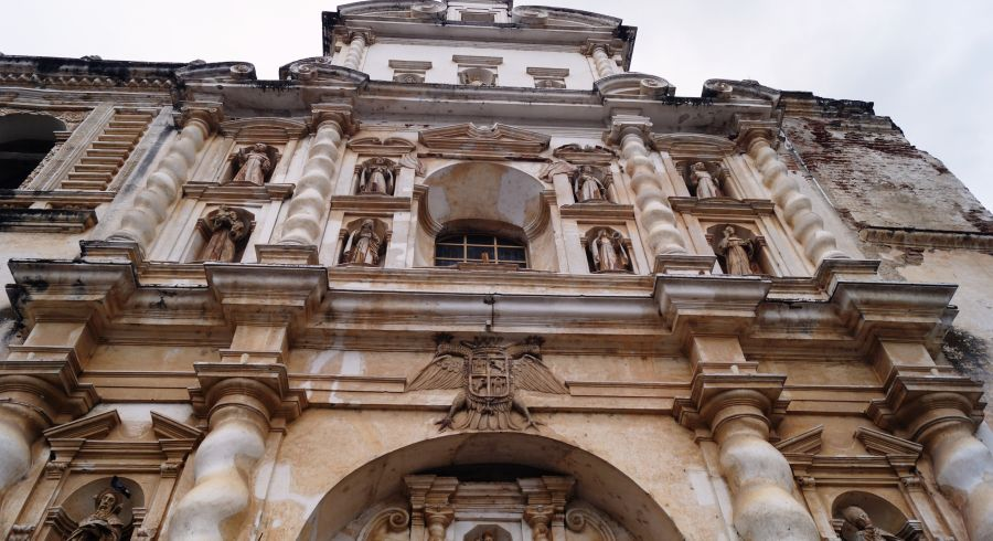 Koloniales Gebäude in Antigua, Guatemala