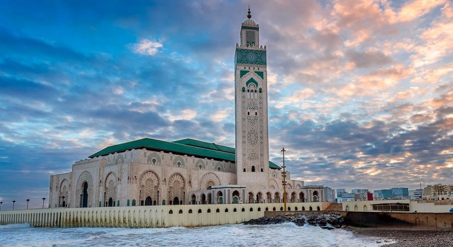 Enchanting Travels Morocco Tours The Hassan II Mosque largest mosque