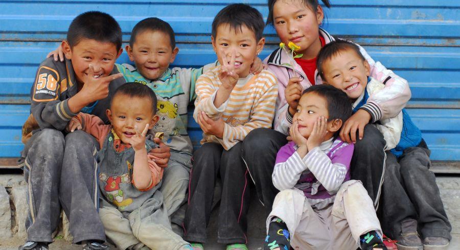 Begegnungen mit den warmherzigen Tibetern