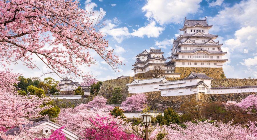 Himeji Castle in the Hyōgo Prefecture of Japan