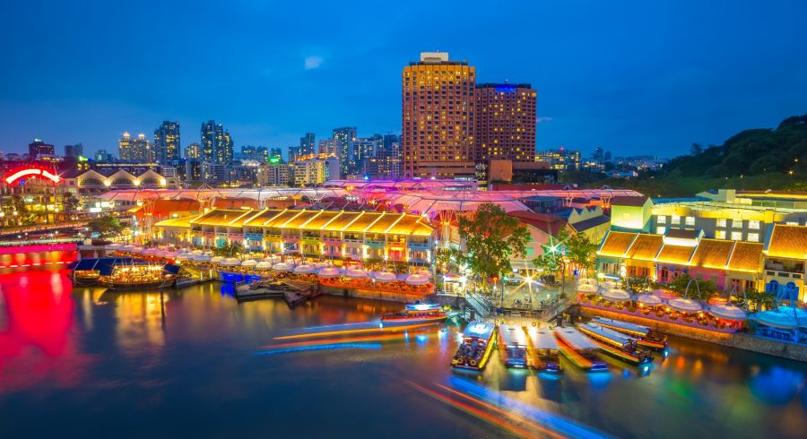Enchanting Travels Asia Tours Singapore Tourism Marina bay Clarke Quay