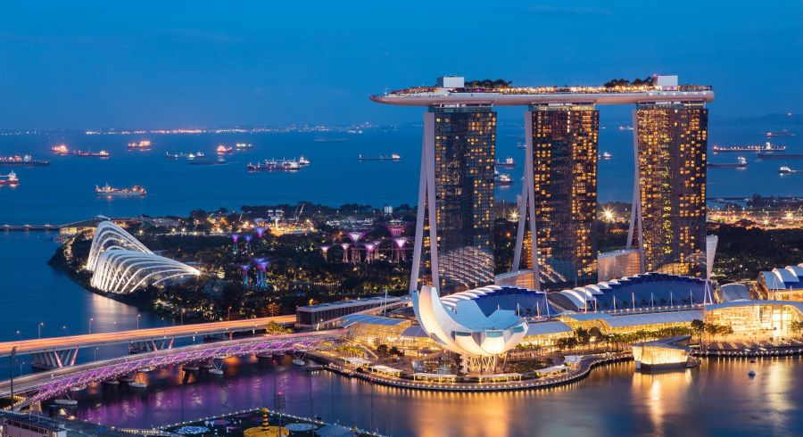 Enchanting Travels Asia Tours Singapore Tourism Marina bay