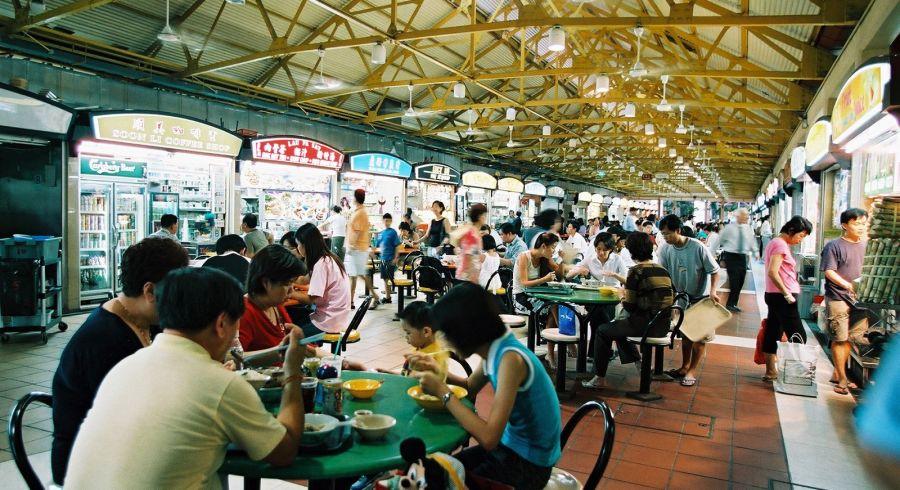 Hawker Center in Singapore