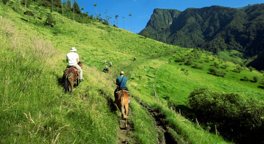 Horseriding - Enchanting Travels Top 10 UNESCO World Heritage sites of 2019 - Coffee Region in Colombia