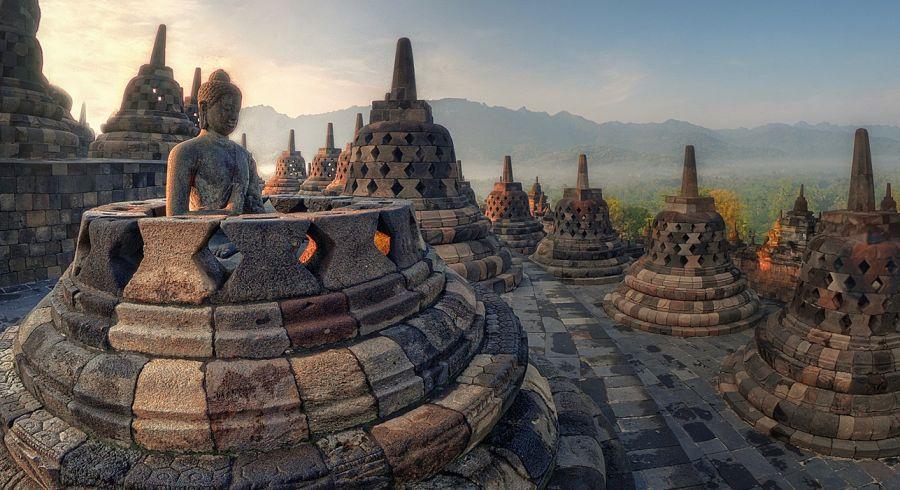 Borobudur Temple, Java, Indonesia - Enchanting Travels Top 10 UNESCO World Heritage sites of 2019
