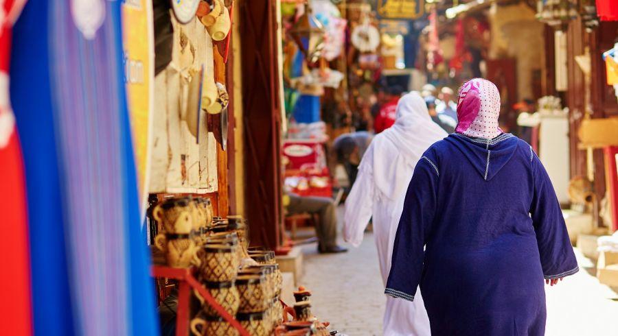 Market in Fez's medine - Enchanting Travels Top 10 UNESCO World Heritage sites of 2019