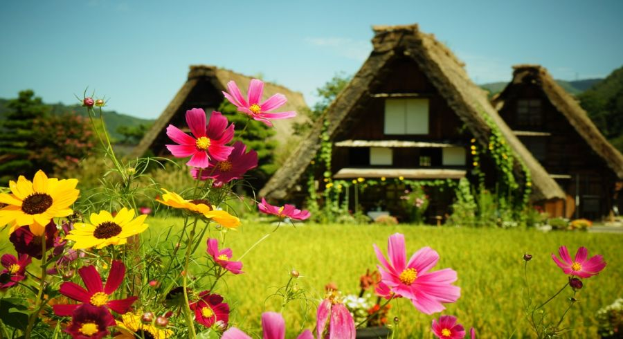 Shirakawa-go in Spring - Enchanting Travels Top 10 UNESCO World Heritage sites in 2019