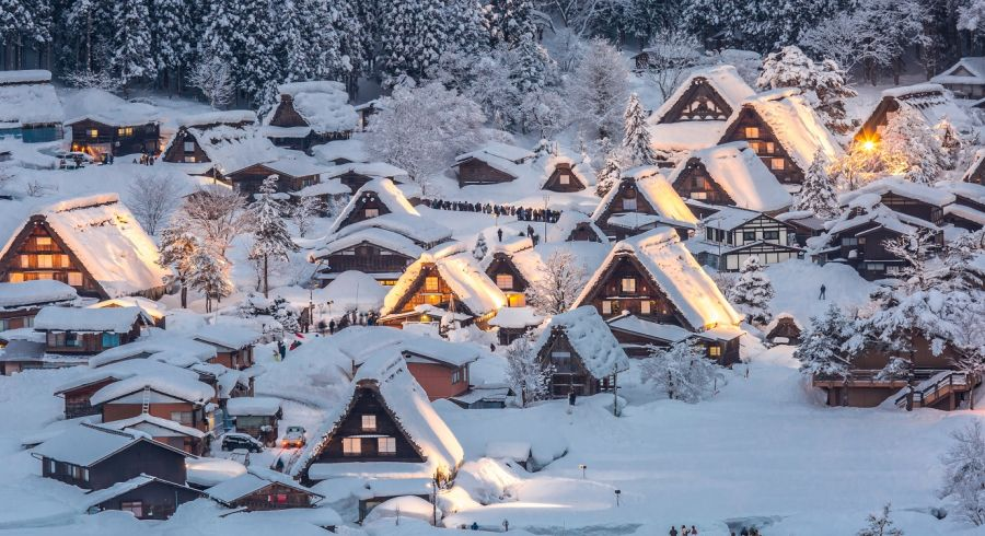 Enchanting Travels Top 10 UNESCO World Heritage sites of 2019 - Shirakawa-go, Japan
