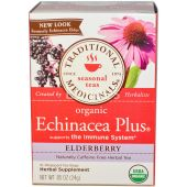 Traditional Medicinals Organic Tea Bags Echinacea Plus Elderberry