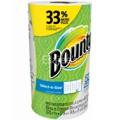 Bounty Kitchen Towel Roll Select A Size White