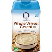 Gerber Whole Wheat Whole Grain Cereal