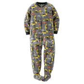 Carters  Boy 1 Piece Footed Fleece Pajamas