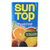 Sun Top Mixed Fruit Juice - Pack of Six