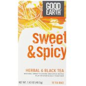 Good Earth Sweet and Spicy Herbal Black Tea