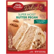 Betty Crocker Cake Mix Butter Pecan